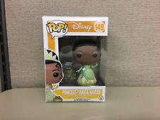 FUNKO Pop! Disney: Princess & The Frog - Tiana & Naveen w Protector Vaulted #149
