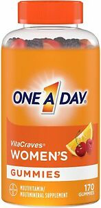 One A Day Women's VitaCraves Multivitamin Gummies 170 Count