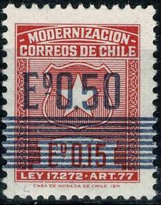 CHILI 1973 MODERNISATION POSTAL   YT n° 400 Neuf ★★ luxe / MNH