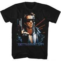 The Terminator Laser Arnold Schwarzenegger Cyborg 80s Movie T Shirt TER556