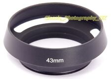 E43 Vented Lens Hood 43mm for LEICA Summilux 50mm 1.4 SUMMILUX-M 1:1.4/50mm