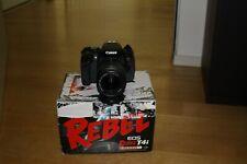 Fotocamera Canon EOS 650D reflex digitale + obiettivo 18-55 IS + sd 32gb 700d