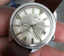 Superbe montre Vintage HERMA (idem YEMA)  mécanique tout  Acier - Old Watch. -