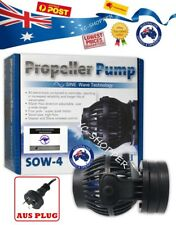 JEBAO SOW-4 Wireless Wave Maker Aquarium Pump Reef Tank + OZ Plug