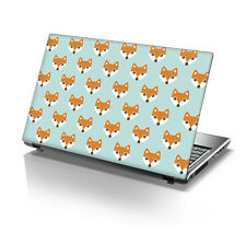 "15.6"" TaylorHe Laptop Vinyl Skin Sticker Decal Protection Cover Foxes 2176"