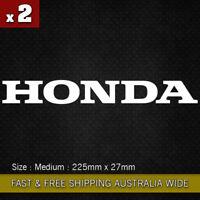 2 Pcs HONDA Motorcycle Word Sticker Logo Vinyl Decal sticker JDM CBR 250 400 600