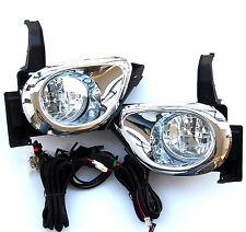 HONDA crea MK II 2004-2006 Proiettore Luci Fendinebbia luce di un set LH+RH CHROME