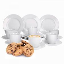 36tlg. Kaffeeservice Trend 12 Personen Geschirr Porzellan Kaffee Service Dekor
