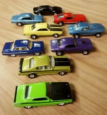 JOHNNY LIGHTNING LOT OF 9 MUSCLE CARS MINT AAR CUDA ,HEMI CHALLENGER, SHELBY