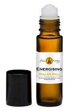 ENERGISING Essential Oil Blend Roller Ball Pulse Point Roll On Aromatherapy
