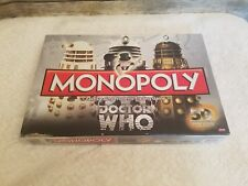 Monopoly Doctor Who Board Game 50th Anniversary Collectors Edition 2012