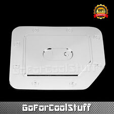 For 04-12 Nissan Titan  Chrome Fuel Gas Cap Door Cover