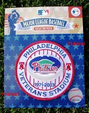 Official MLB 1971 2003 Philadelphia Phillies Veterans Stadium Collectible Patch
