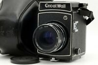 【Very RARE! N.MINT】 Great Wall DF-5 6x6 Camera 90mm f3.5 Lens w/ Case From JAPAN