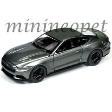 AUTOWORLD AW 64092 B 2017 FORD MUSTANG GT 1/64 DIECAST MODEL CAR GREY