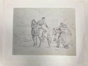 """Bigelow's Battery Sketch Print By Charles Reed 11""""x8.5"""""""