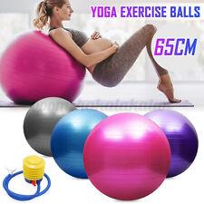 45/55/65/75cm Yoga Gym Fitness Ball Aerobic Abdominal Exercise Pilates