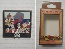 Disney Character Family Portraits PETER PAN Captain Hook Smee Pirate Mystery Pin