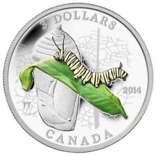 Canada 2013 $3 Animal Architects: Bee & Hive Pure Silver Coin Tax Exempt