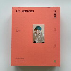 BTS - Bangtan Boys Memories of 2019 + Tae Photo Card Official