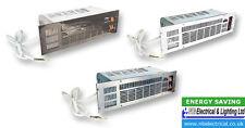 Eterna 2.4KW Pedestal Ventilador Calefactor con 3 Color fascias IP20