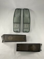 1970-72 FORD F100 F250 SMOKE LIGHTS PACKAGE TAIL LIGHTS TURN SIGNAL LENSES