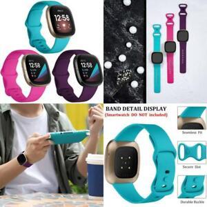 Fitbit Sense Versa 3 Tracker Band Breathable Waterproof Sport Silicone Strap