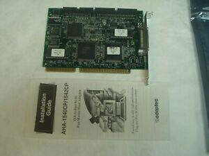 ADAPTEC AHA-1542CP ISA SCSI CONTROLLER CARD NEW WITH MANUAL BULK