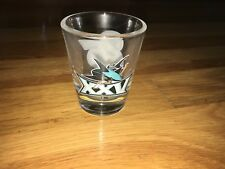 San Jose Sharks Special 25th Anniversary Collectible Shot Glass