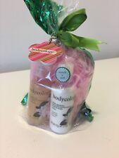 bodycology white garenia shawer gel and foaming bath, hand body lottion, & spong