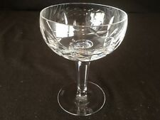 "Waterford Crystal Kildare Champagne Sherbet Glass 5 1/4"" H Sold Individually"