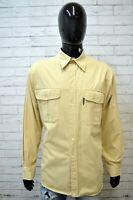 Camicia Uomo NORTH SAILS Taglia XL Camicetta Polo Manica Lunga Maglia Shirt Man
