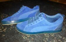 Puma x Hussein Chalayan - Urban Glide Lo - Suede - all blue - Gr. 45
