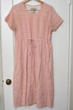 Ace & Jig Camille Midi Dress in Parfait Pink size Large