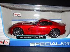 Maisto Dodge Viper SRT GTS 2013 Candy Red 1/24