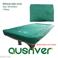 Fitted Synthetic Fiber Billards Table Cover Elastic Hemming for Snooker Table