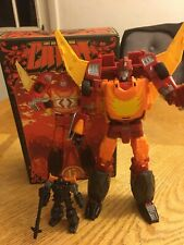 Transformers DX9 Toys D06 Carry Complete Masterpiece Scale Rodimus Prime