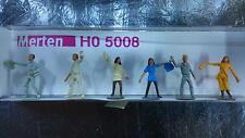 * Merten H0 5008 Figure Pack 6 People throwing away rubbish 1:87 H0 Scale