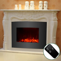Mecor Electric Fireplace Wall Mount & Standing 1500W w/Remote Adjustable Heater