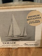 BlueJacket ship crafters DORADE small scale Ship Kit 1974