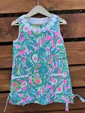 Lilly Pulitzer Girls Shift Dress - Size 4