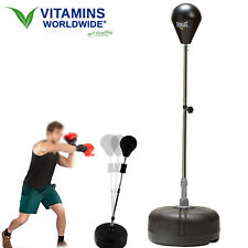 Reflex Bag Punching Free Standing Mma Boxing Strike Training Home Gym Exercise