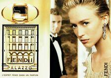 Publicité Advertising 079  2008  Fendi Palazzo  parfum (2 pages)  4 7.19
