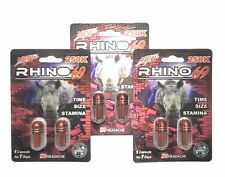 Energy Supplement for Men RHINO 69 Natural Male Enhancement 6 Sex Pills