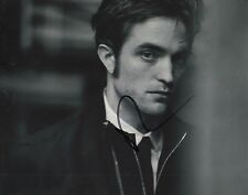 Robert Pattinson Twilight B&W Hand Signed 8x10 Photo W/COA Autographed