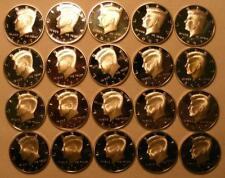 FULL ROLL of 20 SILVER PROOF 2007 S Kennedy Half Dollars