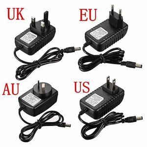 Power Supply for GRA & AFCH Nixie Clocks [US EU UK AU plugs] 230-100V to 12V 1A