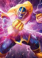 ASTONISHING X-MEN #16 YOON LEE MARVEL BATTLE LINES VARIANT MARVEL COMICS THANOS