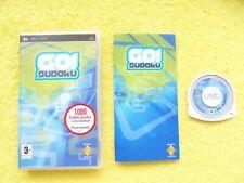 GO! SUDOKU - sony playstation portable / PSP