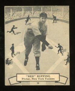 1937 V300 O-Pee-Chee #136 Red Ruffing - New York Yankees - HOF - Tough